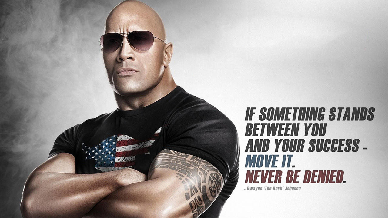 the rock quote wallpaper - photo #5