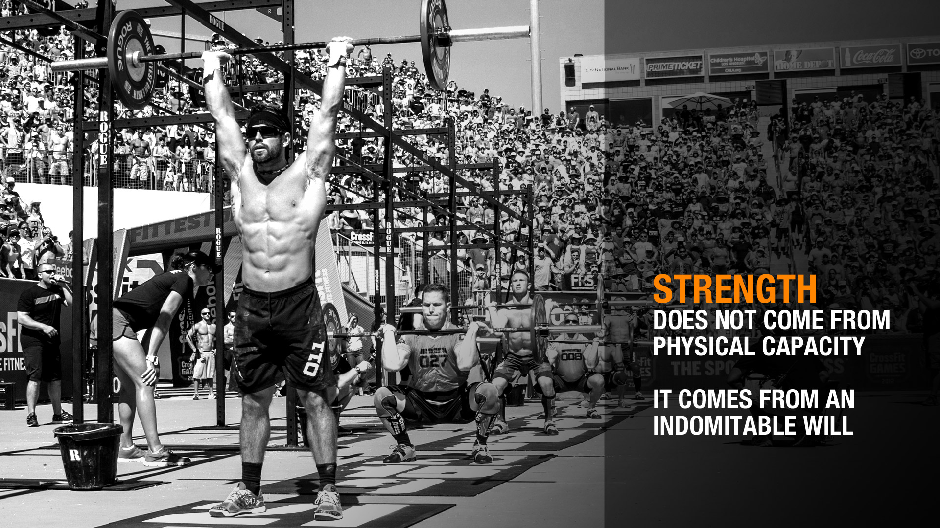 Motivational Wallpaper Strength The Fitness Wire